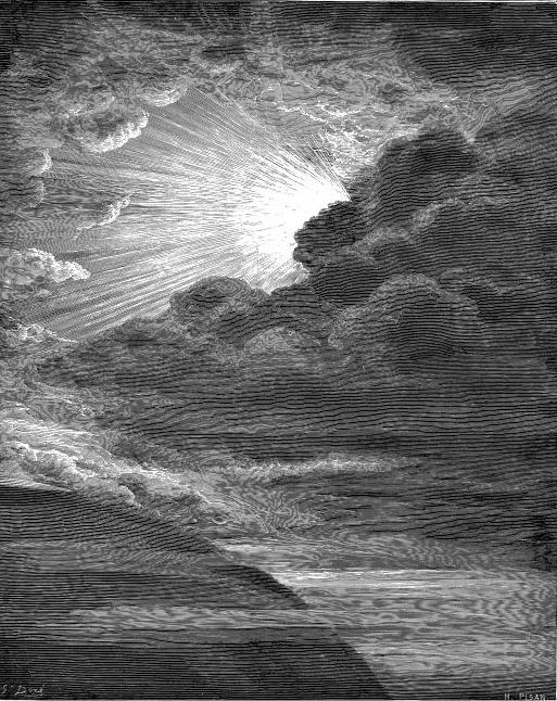 La Creación de la Luz, Gustave Doré